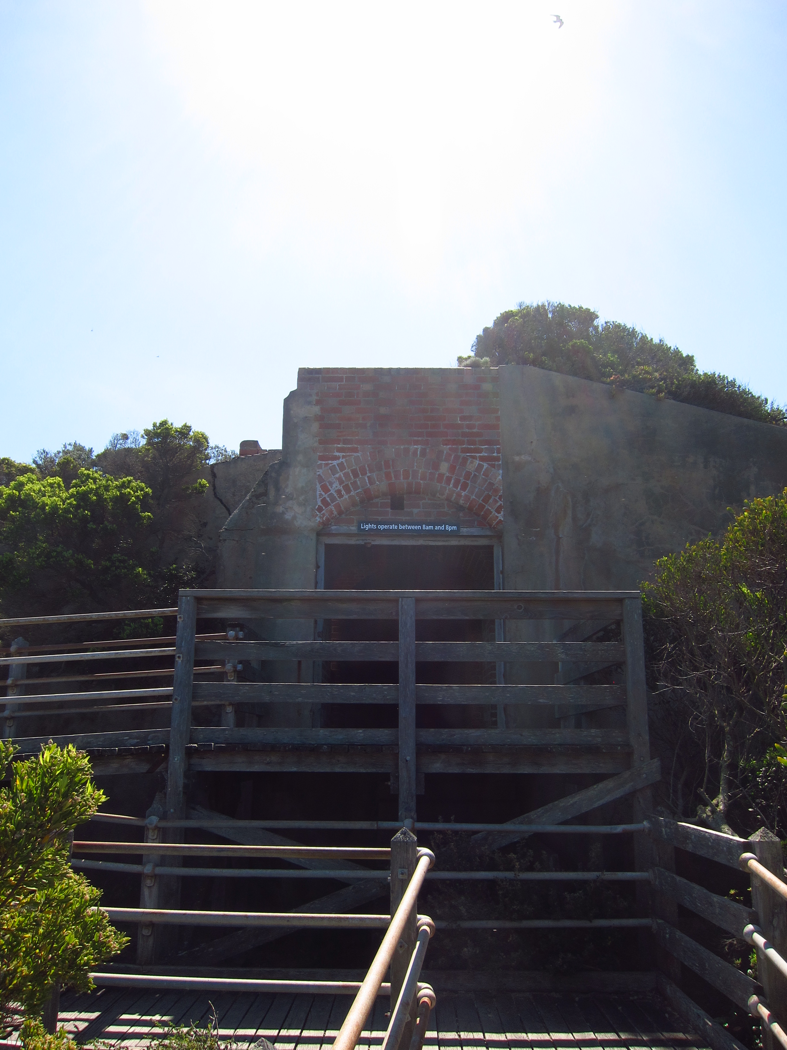 53. Entrance of the tunnel