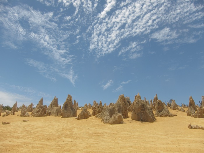 25. Pinnacles - the rocks