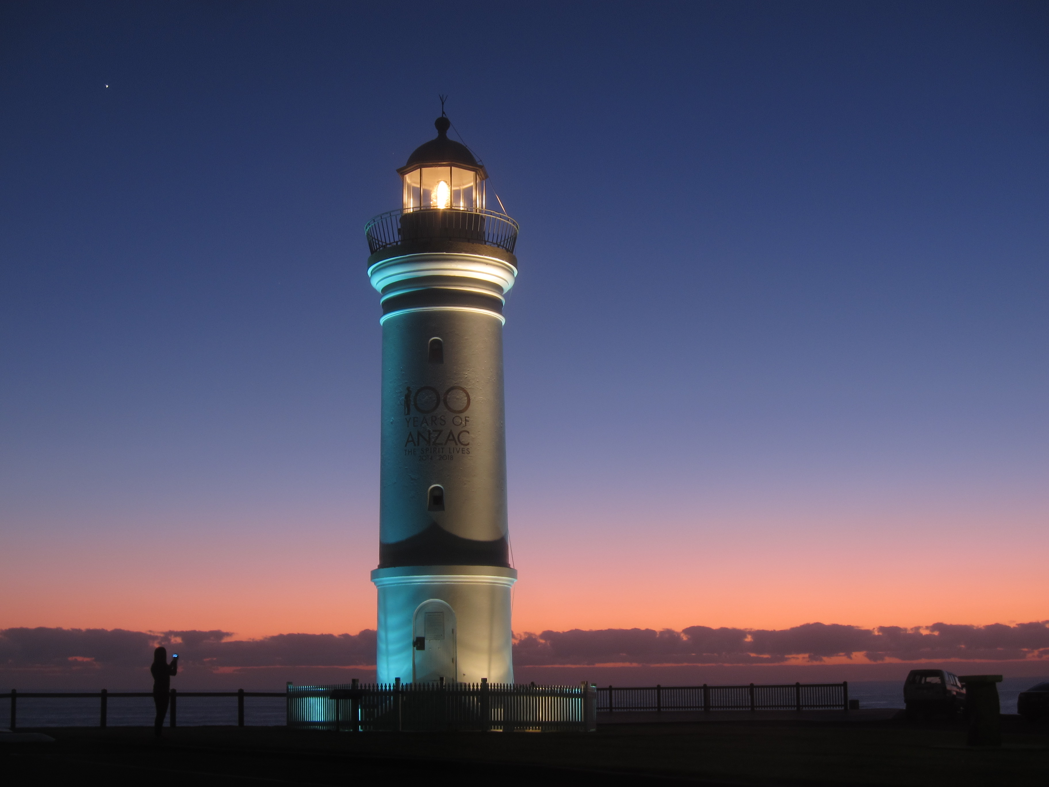 02. Kiama lighthouse (flashing)