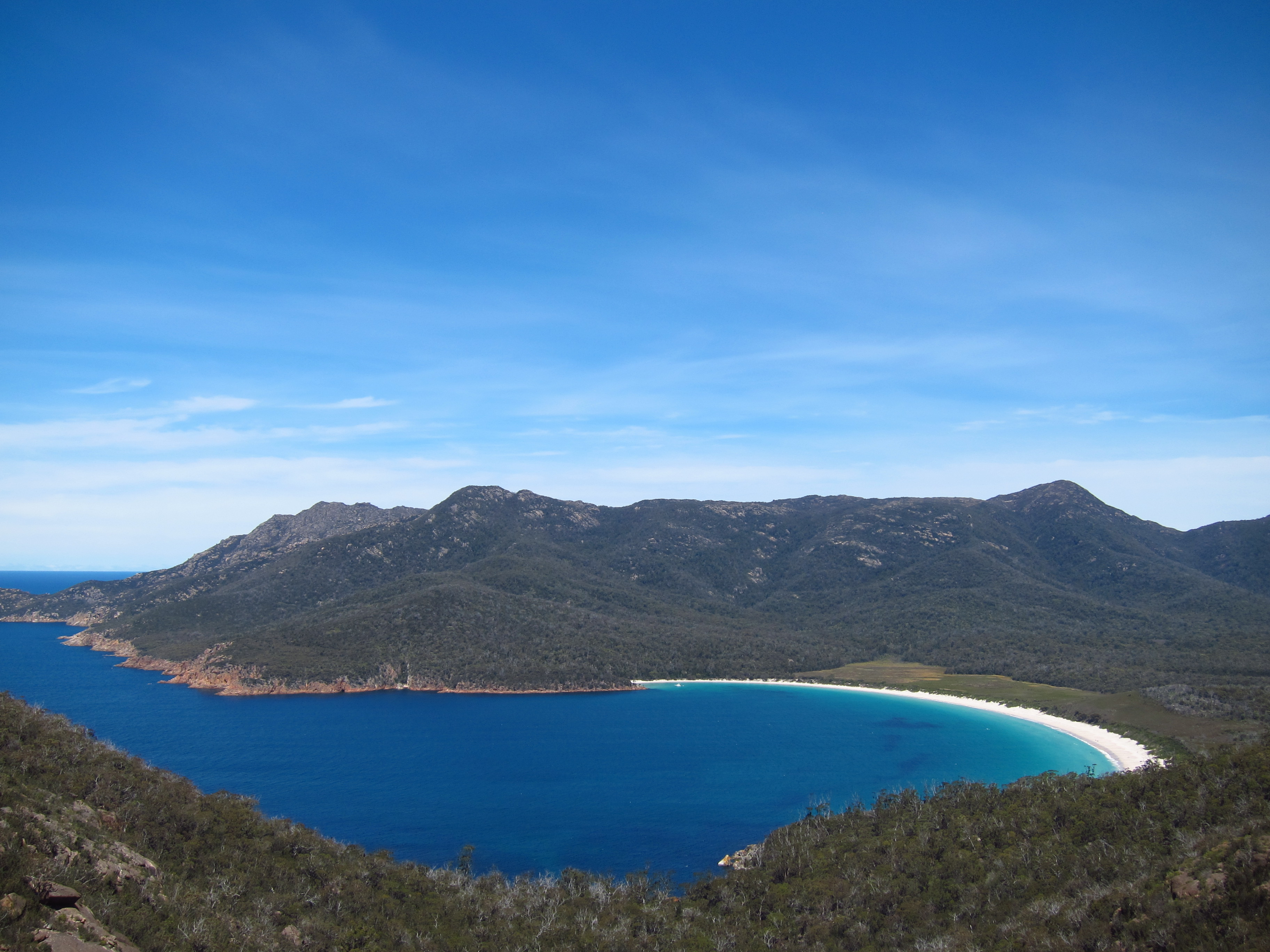 17. Freycinet National Park from top
