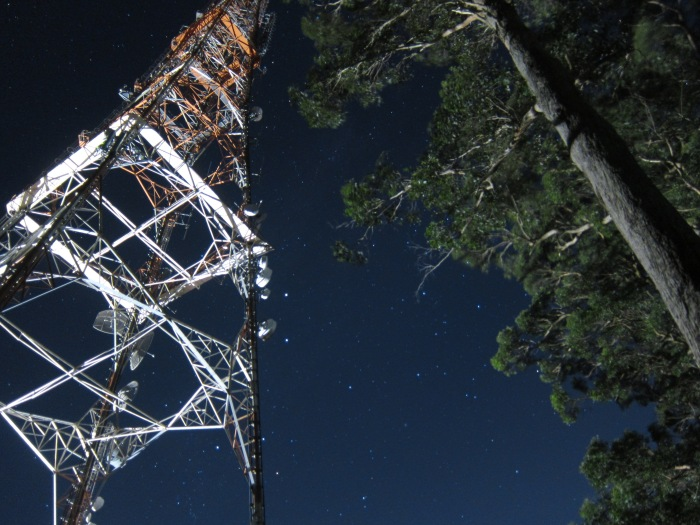 22C. Mt Dandenong Lookout - starry sky