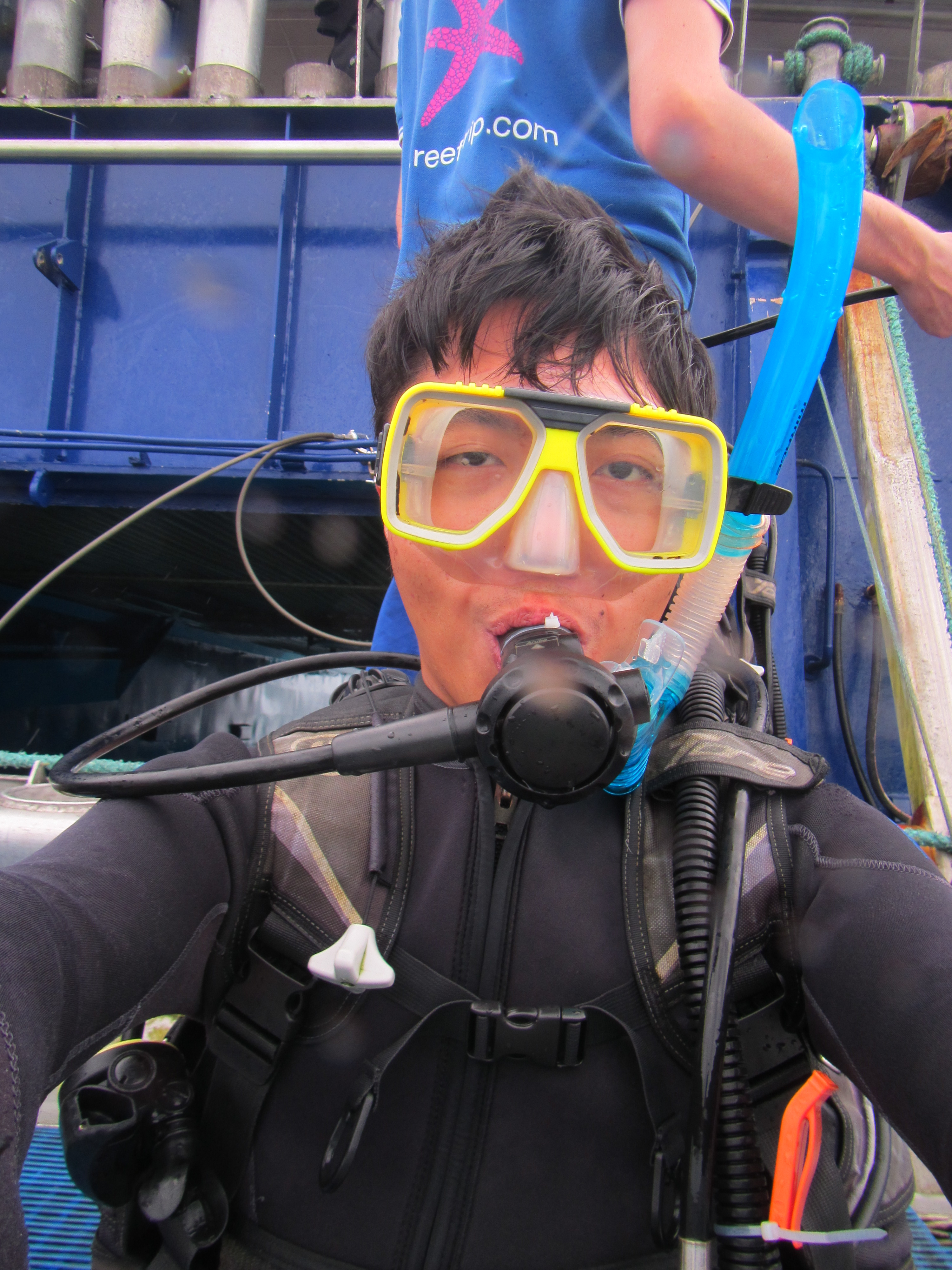 07. Selfie before diving