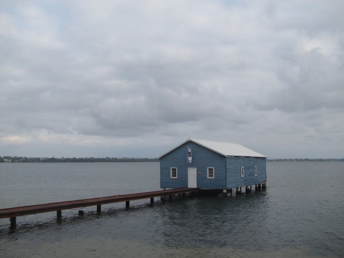1A. Blue Boat House